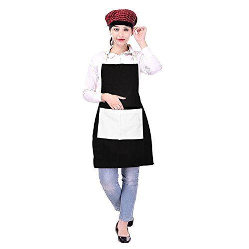 Icrafts Tablier homme femme Chef de cuisine avec poche 100% pur coton Usage quotidien lavable en machine (75x 80) cm #Icrafts #Tablier #homme #femme #Chef #cuisine #avec #poche #coton #Usage #quotidien #lavable #machine #(x
