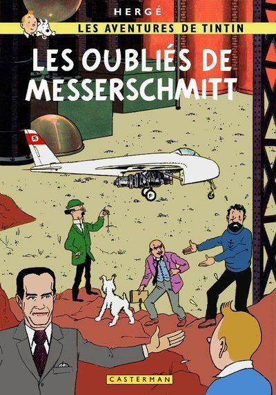 Tintin : Les oublies de Messerschmitt by *Bispro on deviantART