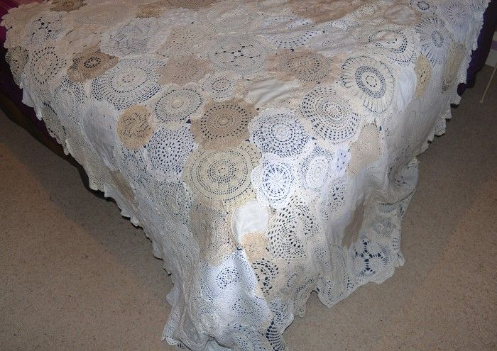 17 Best Images About Doily Quilt On Pinterest Vintage
