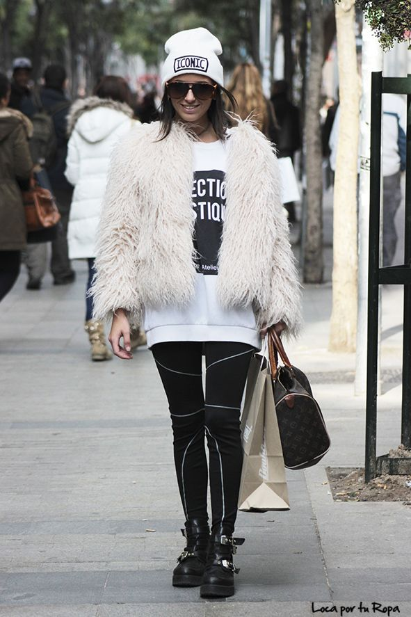 Cool Yeti - Loca Por Tu Ropa | The Style Takes The Street #13 http://losperrosnobailan.blogspot.com/2015/02/the-style-takes-street-12.html #estilo #moda #modacallejera #streetwear #style