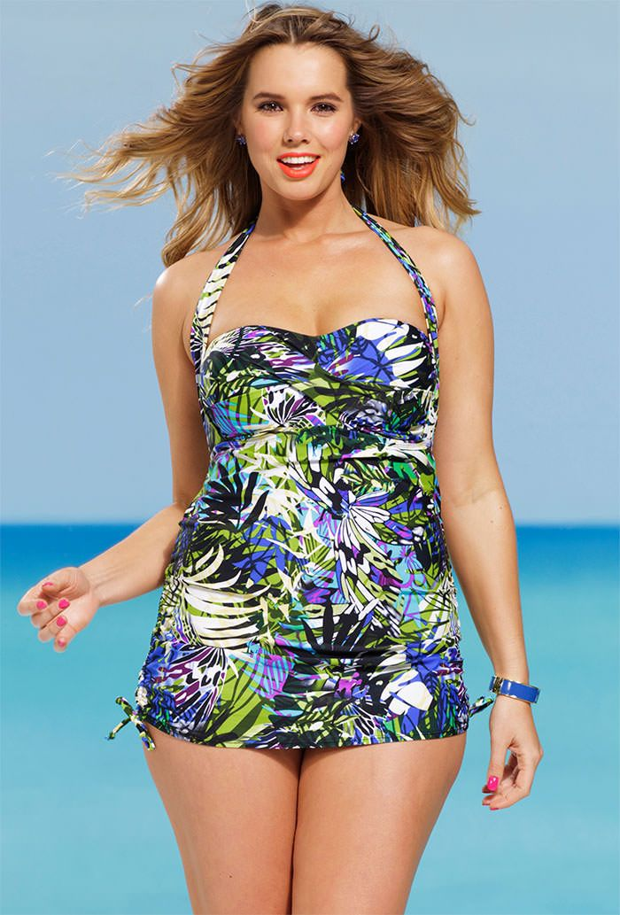 Free shipping and returns on plus-size swimwear at cpdlp9wivh506.ga Shop for one- and two-piece swimsuits, cover-ups, swimdresses and more from top brands.