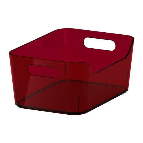 "RATIONELL VARIERA Box - red, 9 1/2x6 3/4 "" - IKEA"