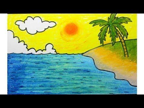 Lukisan Pemandangan Alam Yang Mudah Digambar