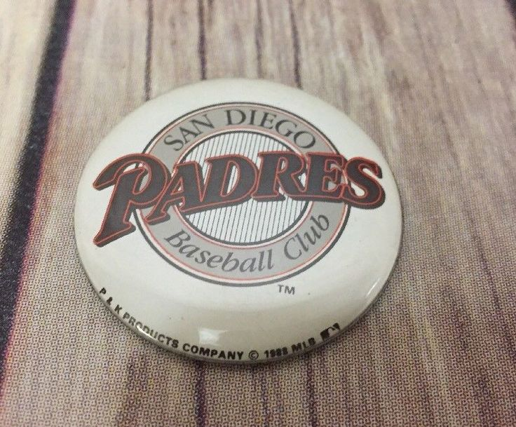 MLB Baseball Magnet San Diego Padres 1989 1.75 Inches #PKProductsCompany #SanDiegoPadres