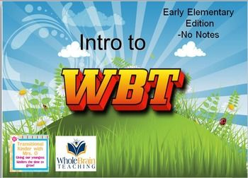 Whole Brain Teaching Introduction Lessons- Early Education free on TpT put together by TK with Mrs.O