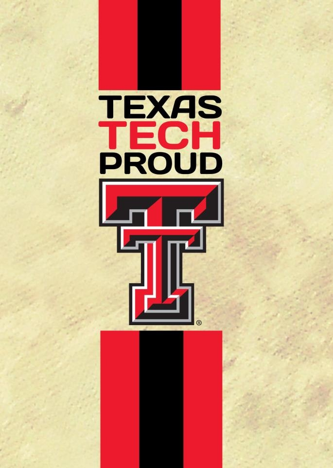 Proud to be a Texas Tech Red Raider!
