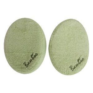 Evriholder 979-2 Body Sponge, Set of 2, Green by Evriholder. $11.22. Leaves skin fresh and supple; Outer: 56% Rayon, 44% Cotton Inside: 100% Polyester; Bamboo naturals body sponge is made from bamboo fabric; Perfect for everyday cleansing; Super soft, absorbent, and gentle; This extra large bamboo body sponge is super soft, absorbent, and gentle; Extra large body sponge; Set of 2 green sponges. This extra large body sponge is super soft and absorbent, and is perfect fo...