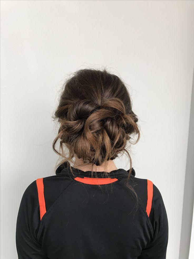 Stylist - Morgan Collins @ Salon Vivace in Mansfield Ohio  Loose Updo #twisted #loose #hair #bun #formal #formalhair