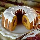 Sour Cream Pumpkin Bundt Cake.