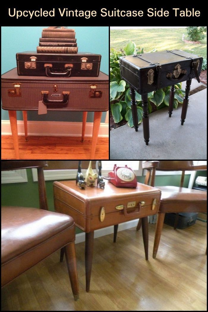 Where Would You Put Your Vintage Suitcase Side Table