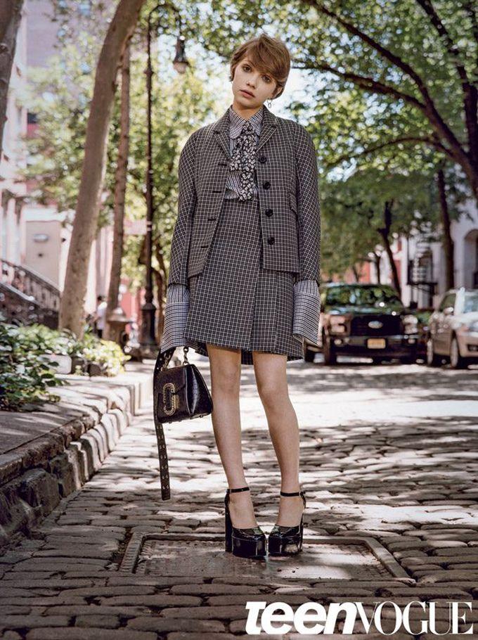 Тави Гевинсон для Teen Vogue (Интернет-журнал ETODAY)