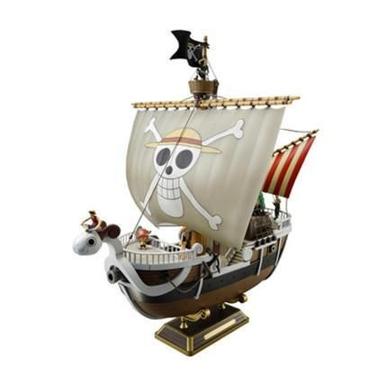 NEW! One Piece Thousand Sunny Going Merry Pirate ship PVC Collectible Model