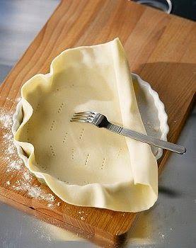 Como hacer una Masa para tarta ligth, casera, facil y rica. Receta de Masa para tarta ligth.