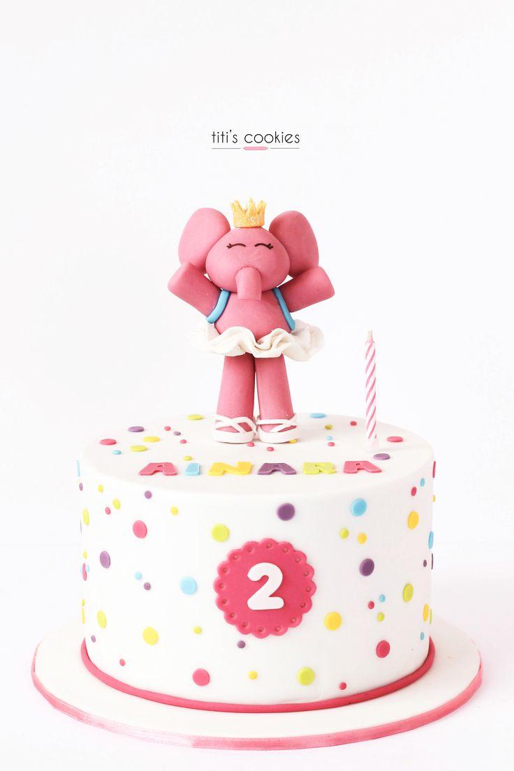 Tarta Elly (Pocoyo) - Elly Cake (Pocoyo) ^^