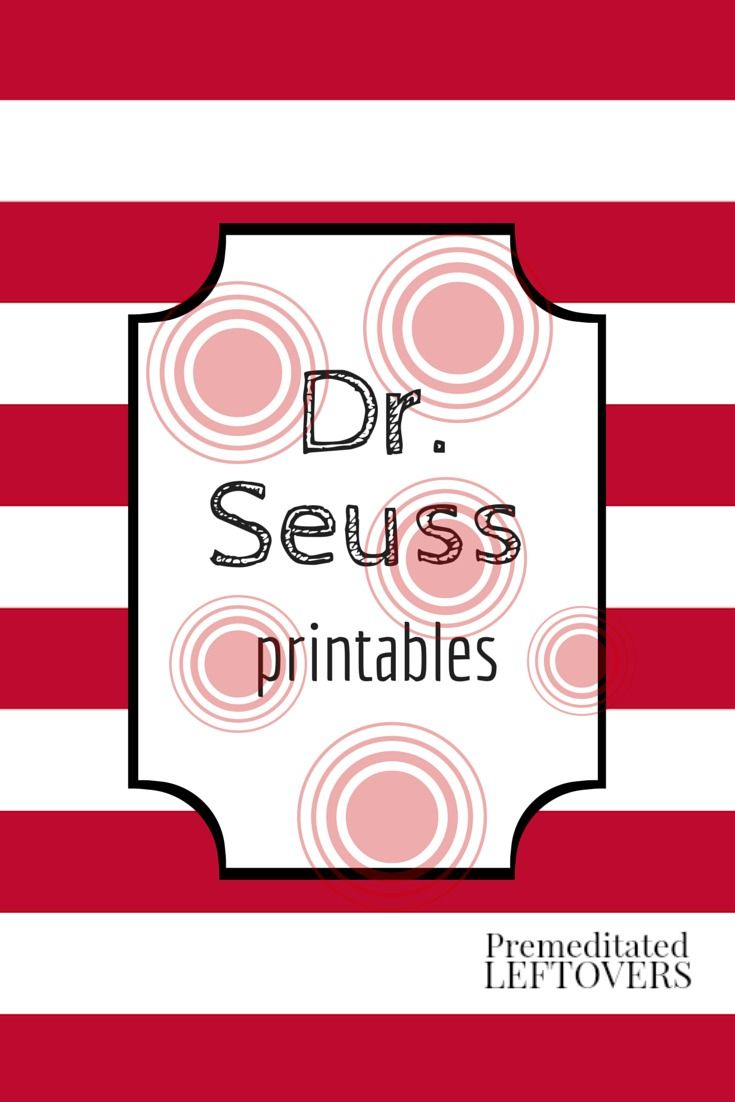 50 Free Dr Seuss Printables and Activities. Fun crafts, activities ...
