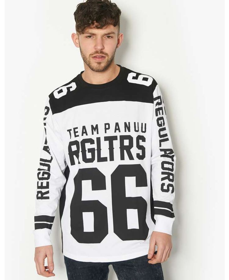 Panuu Eli Longline Sleeved T-Shirt - BANK Fashion, bringing you all the latest fashion for women and men from your favourite designer brands.