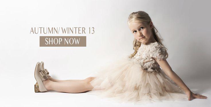 Children's Designer Shoes Autumn Winter 2013.