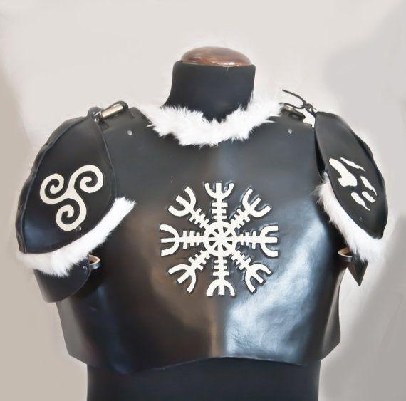 Viking Style Torso with Pauldrons / armatura stile vichingo con Spallacci e…