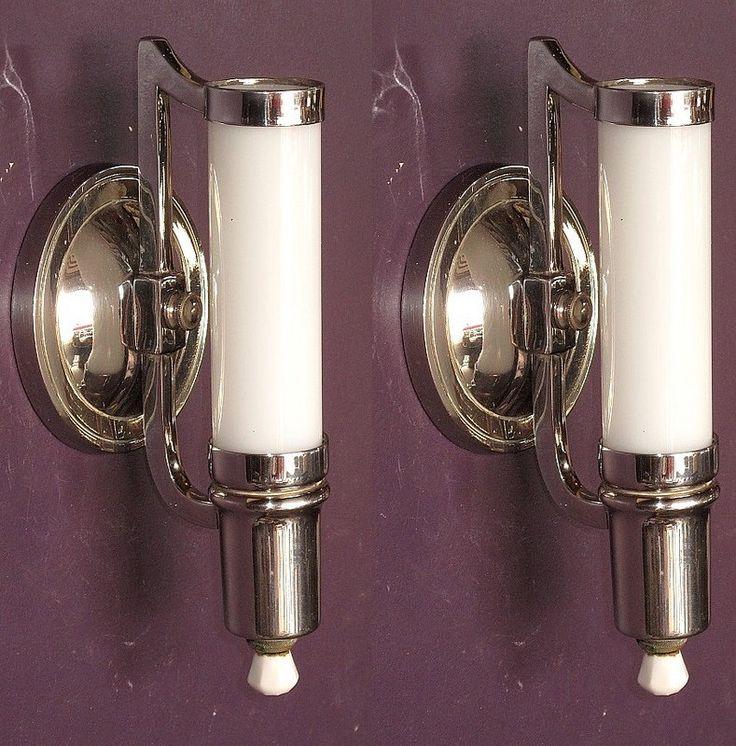 1000 images about vintage bathroom light fixtures on. Black Bedroom Furniture Sets. Home Design Ideas