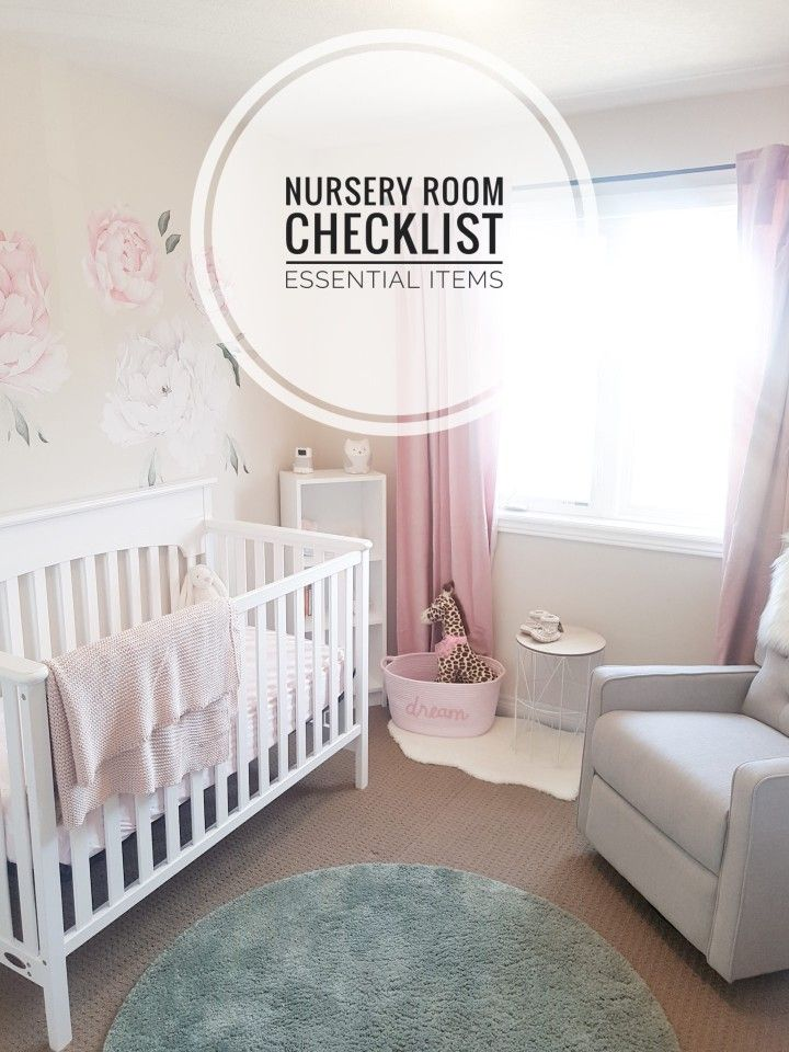 Baby Girl Nursery Room Tour + Nursery Essentials - CANDICE CAMERA | Baby Girl Nursery Room, Nursery Room, Nursery Essentials