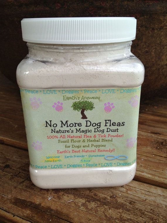 No More Dog Fleas 14 oz All Natural Flea and Tick Treatment for Dogs and Puppies on Etsy, $14.95