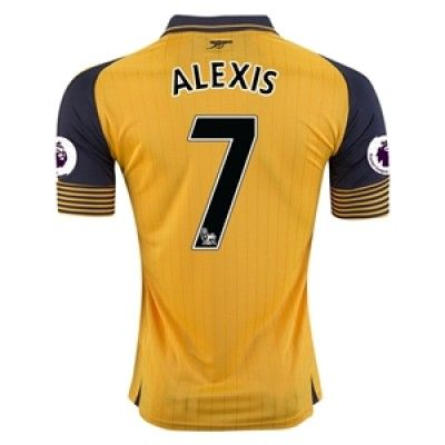 Arsenal 16-17 Alexis Sanchez 7 Udebane Trøje Kortærmet.  http://www.fodboldsports.com/arsenal-16-17-alexis-sanchez-7-udebane-troje-kortermet.  #fodboldtrøjer