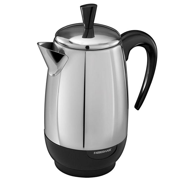 1000+ ideas about Farberware Coffee Maker on Pinterest Best home espresso machine, Best coffee ...