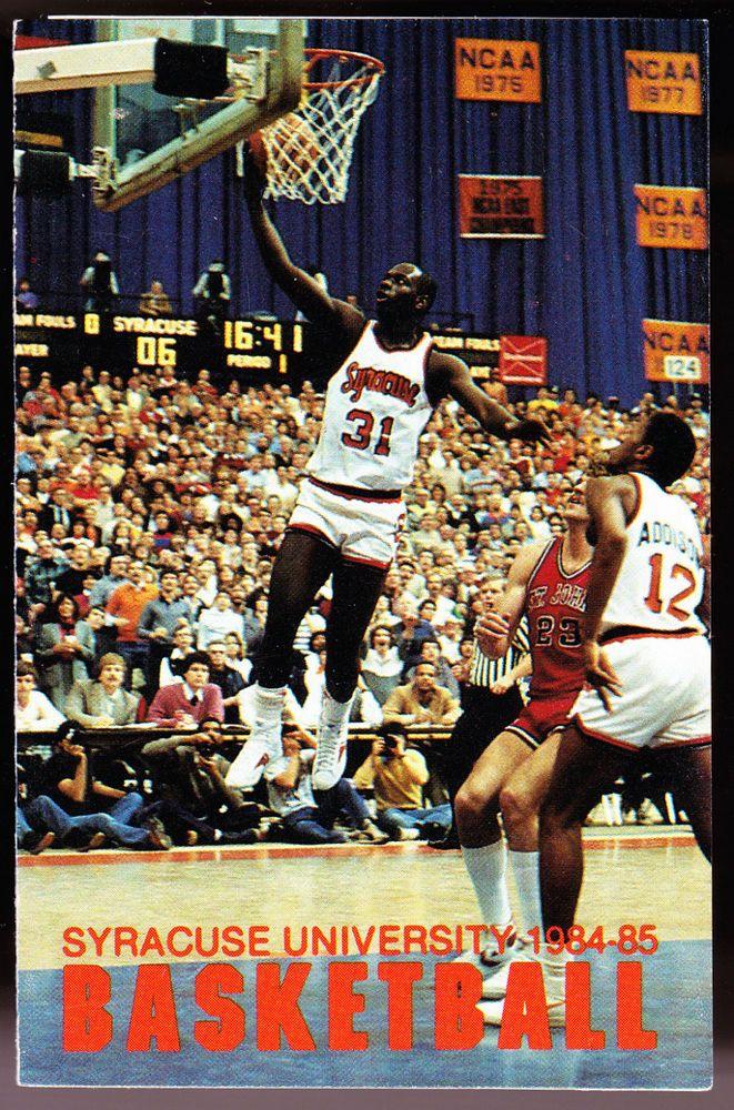 198485 SYRACUSE ORANGE COKE MCDONALDS BASKETBALL POCKET