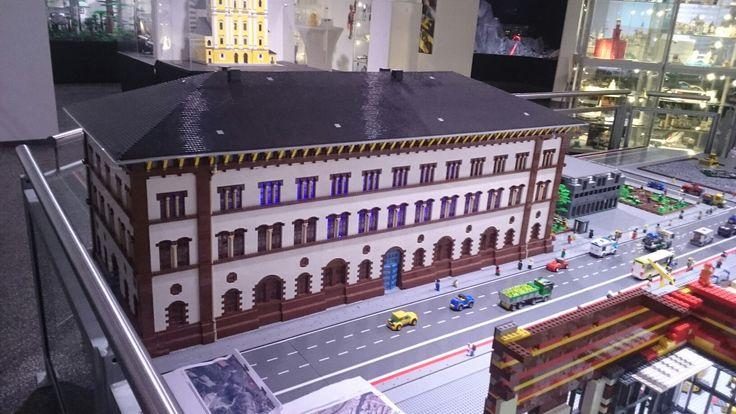 Fruchthalle Kaiserslautern aus Legosteinen