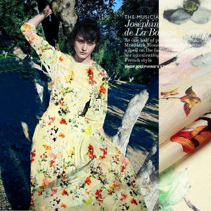 Letnie kwiaty koszula druku jedwabiu lnianą tkaninę sukni cheongsam w wielofunkcyjny: można używać na ubrania, sukienka, spódnica, pościel, strój wieczorowy, moda przedmiotyekologiczny mater od Tkaniny na Aliexpress.com   Grupa Alibaba