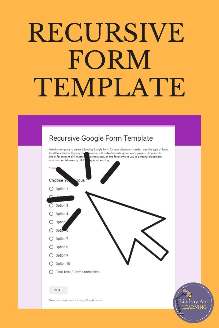 Flipped Classroom Digital Form for Google Drive | Teaching