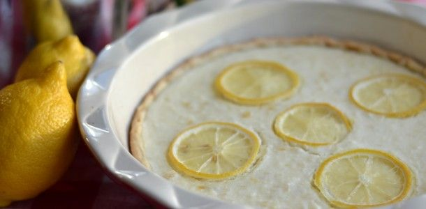 Lemon and Ricotta Tart | When Life Gives you LEMONS | Pinterest