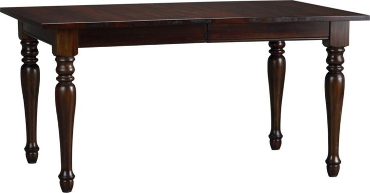 Kipling Mahogany Extension Dining Table in Dining Tables | Crate and Barrel
