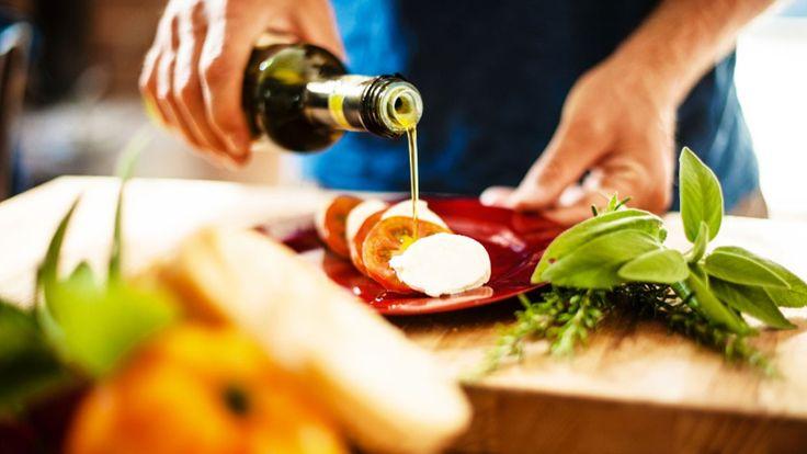 L'abbinamento olio e cibo in cucina