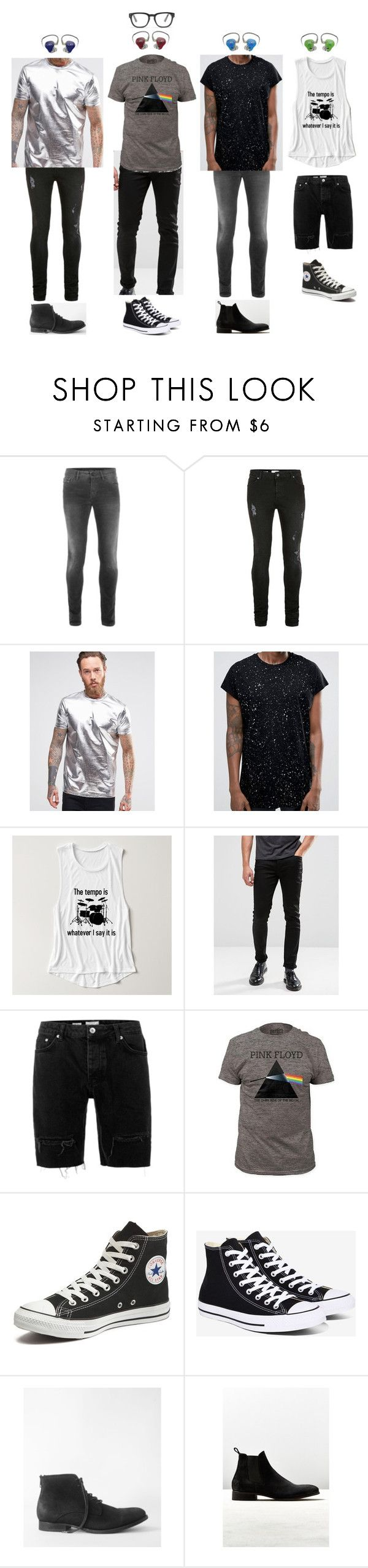 """""""Milan, Italy - 8.7.16"""" by gfc-account ❤ liked on Polyvore featuring Topman, ASOS, River Island, Converse, AllSaints, Shoe the Bear, Madewell, men's fashion and menswear"""