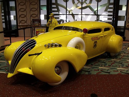Dick Tracy. That is all. #yellow | exotic cars | Pinterest | Cars, Vehicles and Trucks