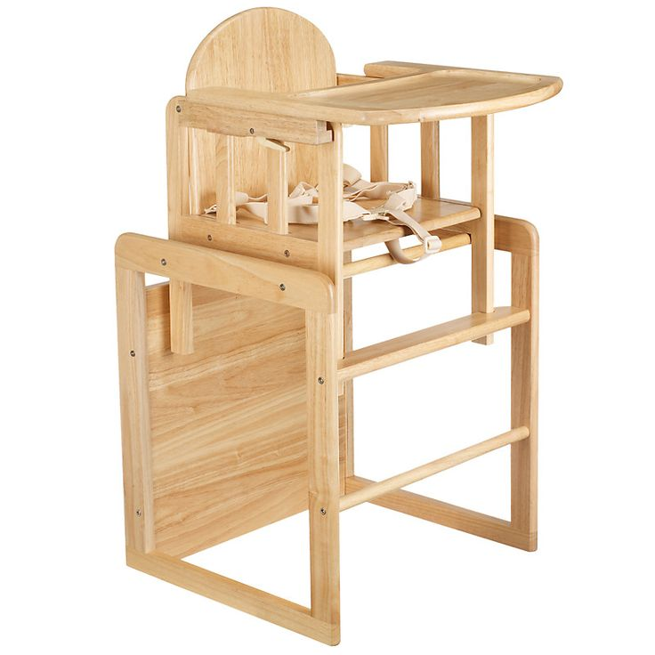 East coast combination wooden highchair