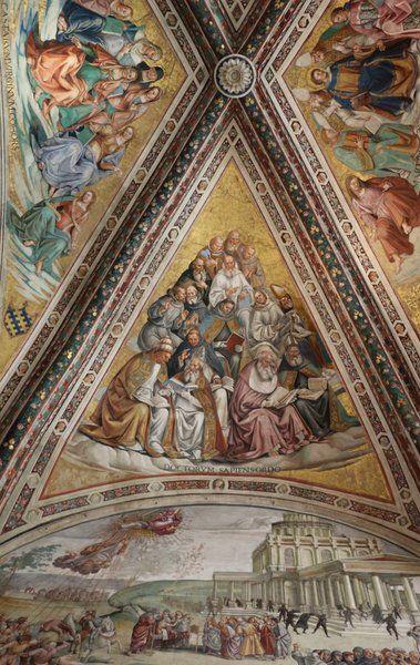 Dottori della Chiesa, Luca Signorelli