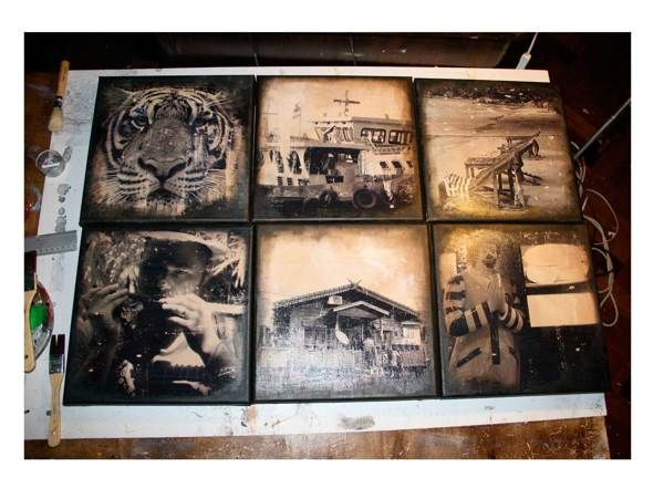 thai-land on canvas by kasia matylda kręcicka, via Behance