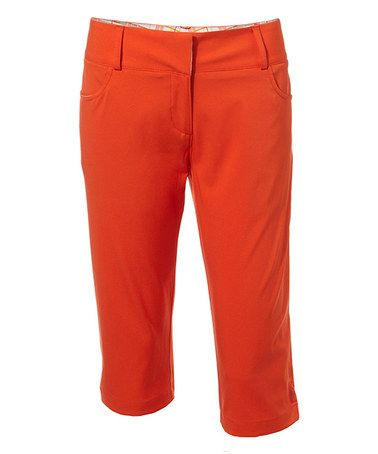 Unique Alice  Olivia Suede Zip Leggings In Orange Burnt Orange  Lyst