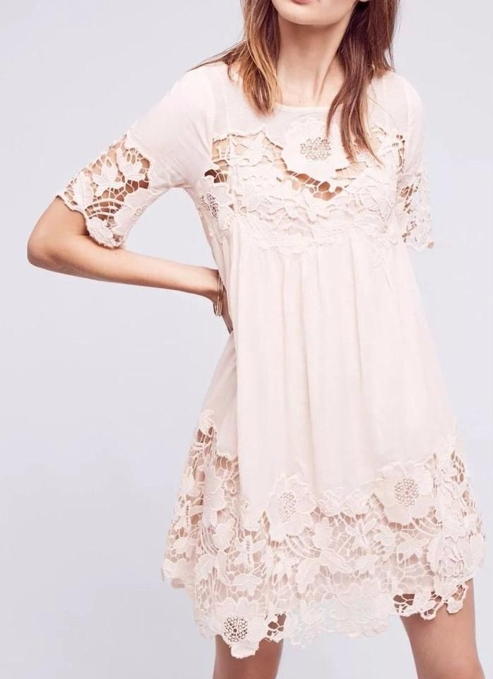 a79adfff4cd6 Anthropologie Magnolia Lace Dress by Holding Horses Sz 4 - NWOT # Anthropologie