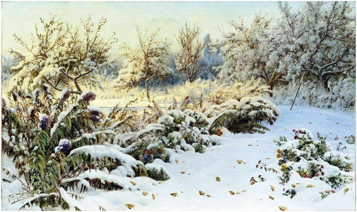 СЕРГЕЕВ НИКОЛАЙ АЛЕКСАНДРОВИЧ.  Осенний каприз зимы
