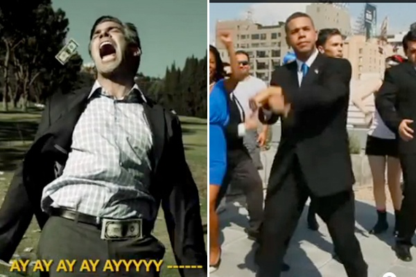 """In light of the debate... who has the better """"Gangnam Style"""" parody video, Obama or Romney?"""