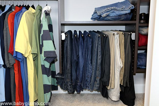 Keep Your Closet Organized With An Easy Closets Pants Rack