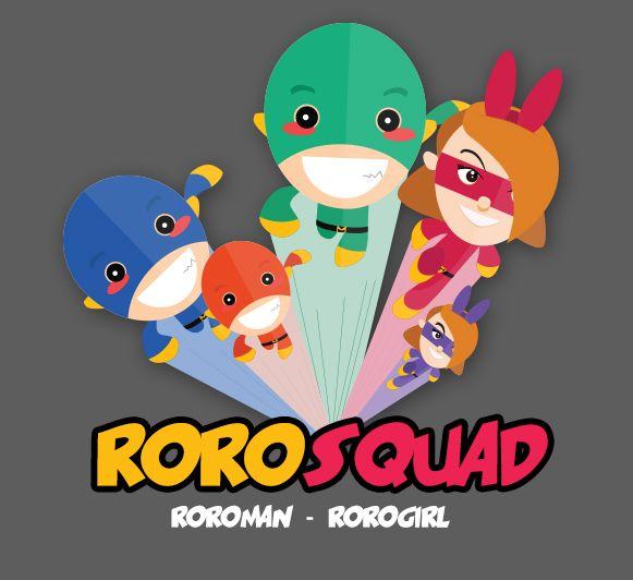 RoroSquad Character #design #character