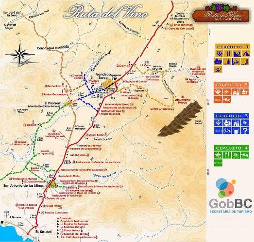 Valle Guadalupe, Ensenada's wine country. Ruta del Vino. McC