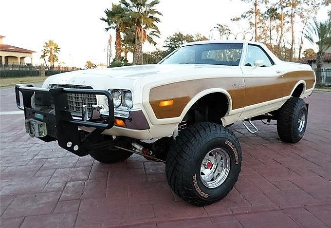 Pick of the Day: 1972 Ford Ranchero custom   Classic Car News by ClassicCars.com   #DriveyourDream   #MonsterRanchero