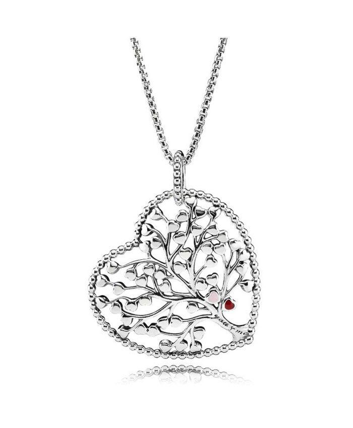2bd35d7a2ab00 Pas Cher Pandora Collier Arbre de l Amour,Collection de bijoux  Saint-Valentin 2018.