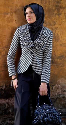 smart hijab style