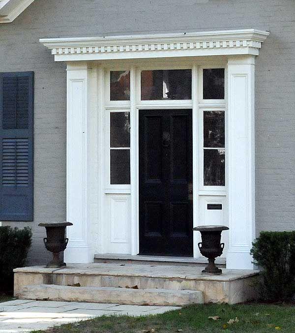 10 best wildcroft external details main house images on for Georgian front porch designs